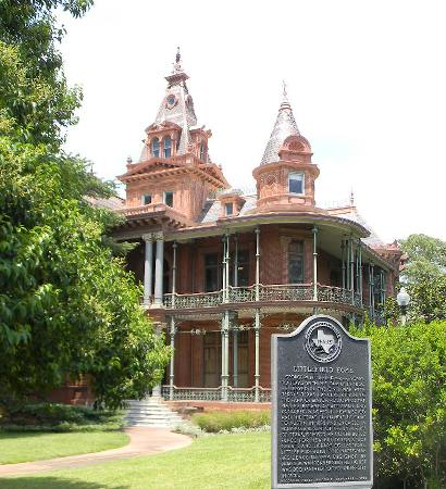 Austin TX - Littlefield Home With Historical Marker