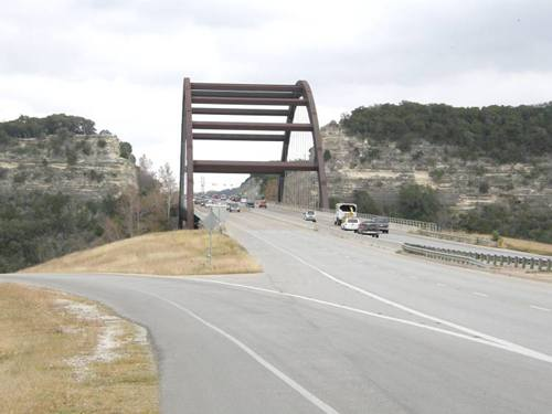 pennybacker bridge or loop 360 bridge  austin  texas