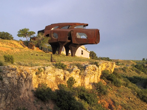 Lubbock Texas - Steel House in Ransom Canyon