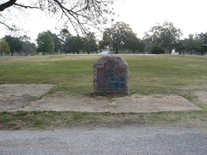 David Crockett Memorial Park Site in Crockett Texas