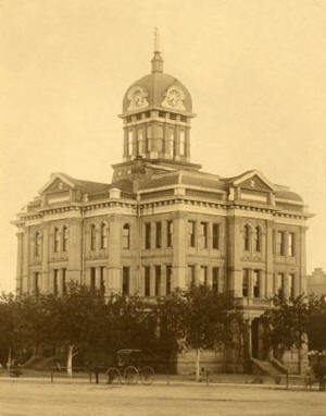 The 1891 Comanche County Courthouse