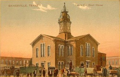 1878 Cooke County Courthouse, Gainesville, Texas
