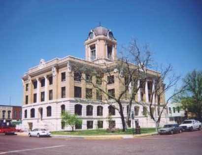 Gainesville Texas Cooke county Courthouse today