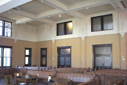 Gainesville TX - 1911 Cooke County Courthouse district courtroom