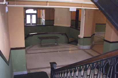 Gainesville TX - 1911 Cooke County Courthouse staircase