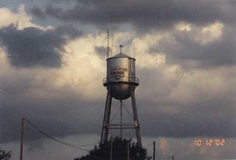 Glen Rose water tower