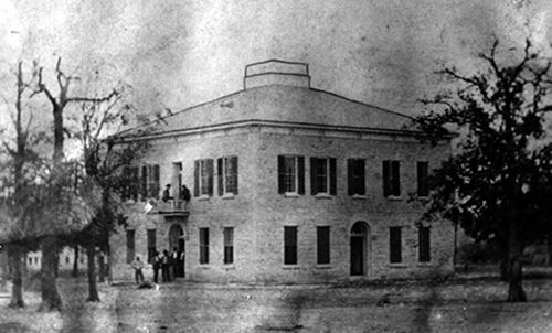 Meridian Texas - 1875 Bosque County Courthouse