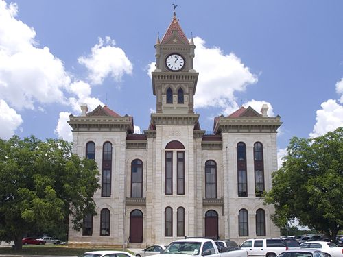 Meridian TX Bosque County Courthouse Restored
