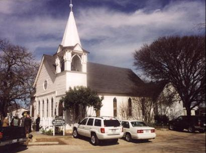Church in Salado, Texas