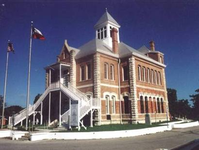 Grimes County courthouse, Anderson Texas