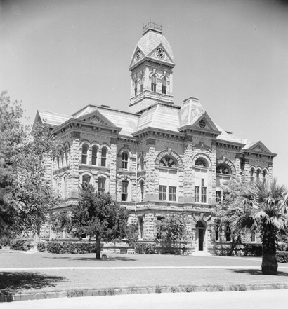 Eugene Heiner's Brazos County Courhouse, Razed