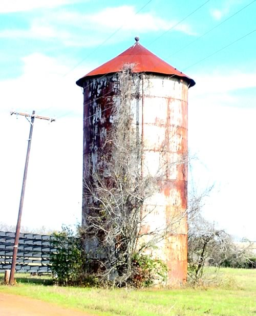 Camp Hearne, Texas water tower