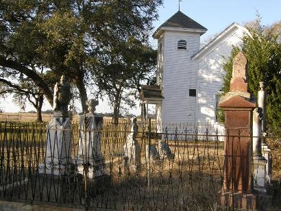 Washington County TX - Mt Zion Baptist Church and  Cemetery