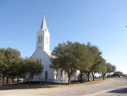 Lavaca County TX - St. Mary's Catholic Church