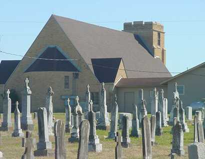 Warda Texas Lutheran Church and Cemetery