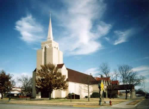 Muenster Texas - Sacred Heart Church