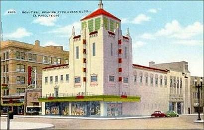 Kress Building in El Paso, Texas