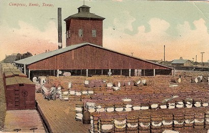 Ennis, Texas cotton gin