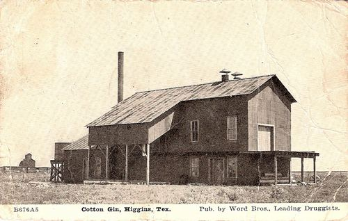 Cotton Gin, Higgins, Texas