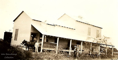 Lane City, TX - Cotton Gin, 1929