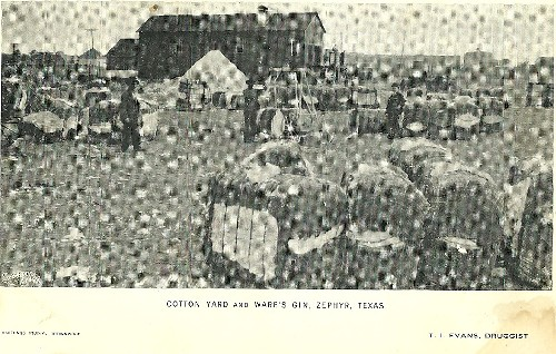 Zephyr TX - Cotton Yard and Ware's Gin