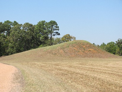 Caddo Mounds State Historic Site, TX - Caddo Burial Mound