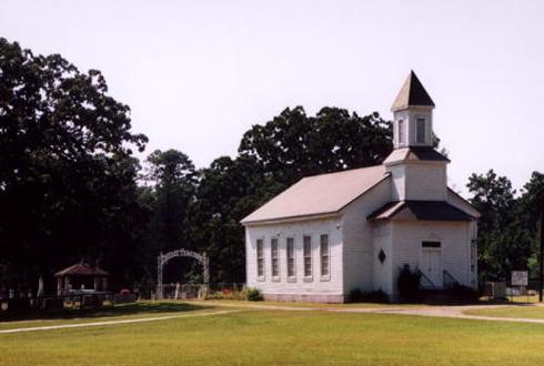 Woods Methodist Church, Texas