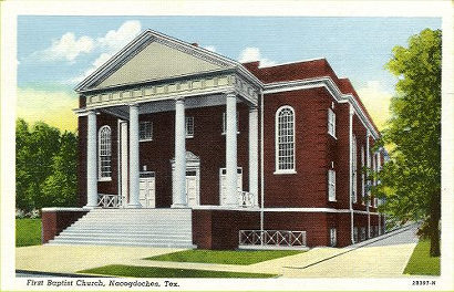 Nacogdoches, Texas - First Baptist Church