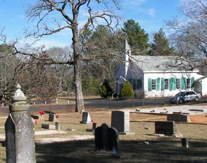 Nacogdoches Texas - Old North Church and Cemetery