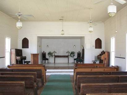 Sanctuary of Chapel at Millard Crossing, Nacogdoches Texas