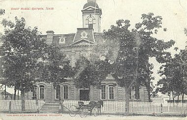Quitman, Texas - 1883 Wood county courthouse
