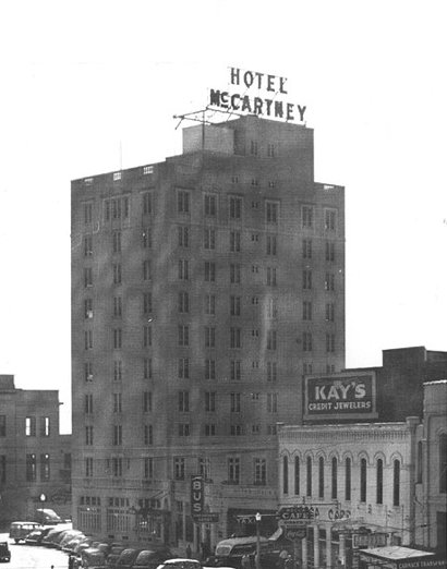 Hotel  McCartney, Texarkana, Texas