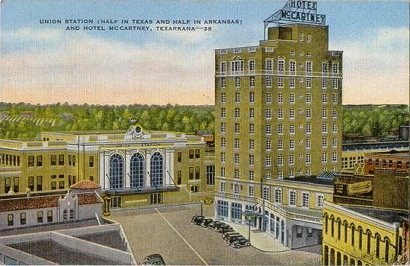 McCarthy Hotel and Union Station, Texarkana