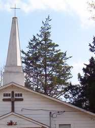 Weeping Mary Baptist Church steeple