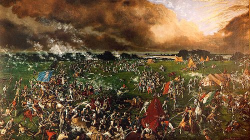 Battle of San Jacinto 1895 Painting