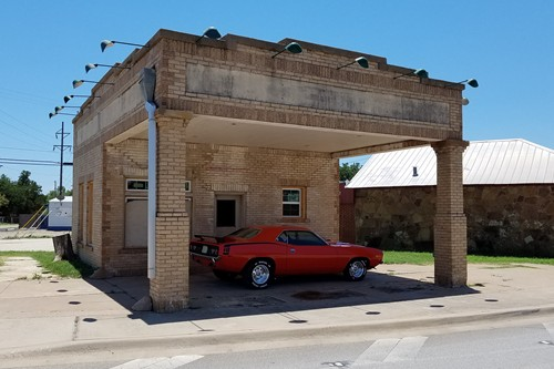 Albany TX - Abandoned Gas Station