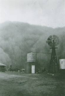 Texas Panhandle dust storm,  April 1935