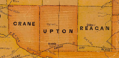 Upton County TX 1920s