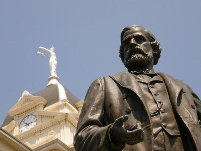 Belton TX - Peter Hansborough Bell Statue
