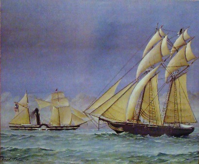 Zavala and San Antonio Schooners-of-war, Rockport TX Maritime Museum exhibit