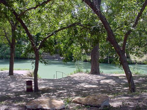 Luling Texas Zedler's Mills, san Marcos River swimming hole