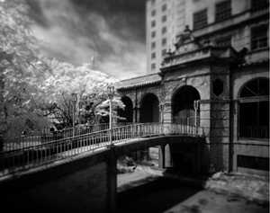 Baker Hotel bridge