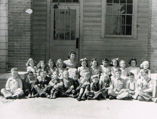 Gregg County, Texas - Northcutt Heights Elementary School - First Grade 1944