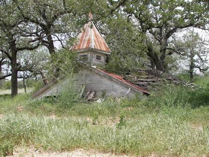 Remains of a church about six miles NE of Stockdale on FM 3335Zippy The Pinhead Costume