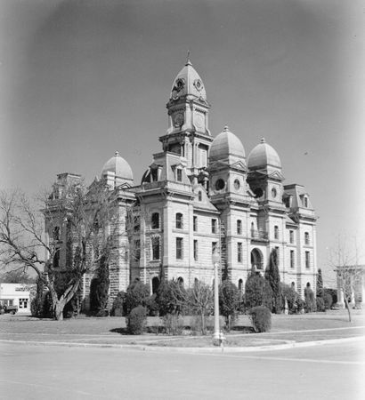 Goliad County Courthouse vintage photo