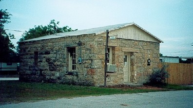 Old jail in Tilden, Texas