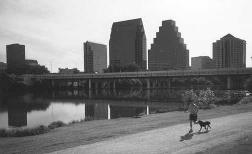 Lady Bird Lake, or Town  Lake Hike And Bike trail, Austin Texas