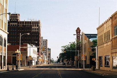 Polk Street, Amarillo, Texas todady