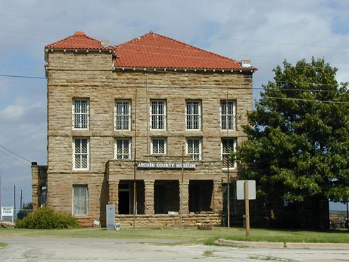 Archer County Museum, Former Archer County jail, Archer City Texas