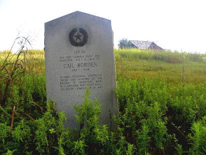 Colorado County Tx - Borden Plant 1936 Texas Centennial Marker